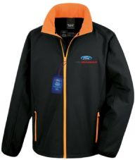 Ford Performance Offizielles Lizenziertes Racing Softshell-Rennjacke